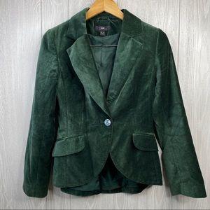H & M Green Blazer women's